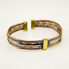 Copper Wire Bracelet 123-71 African Handmade Ethnic Jewelry Brass,