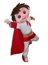 SUPER HERO GUY MASCOT COSTUME GREAT FOR BUSINESS PROMOTION, KIDS PROGRAMME