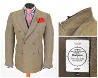 Mens Barbour x Norton & Sons Taransay Tailored Blazer Jacket Wool EU48 / UK38