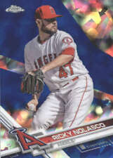 RICKY NOLASCO 2017 TOPPS CHROME SAPPHIRE EDITION #561 ONLY 250 MADE