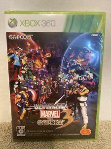 BRAND NEW SEALED Xbox 360 Ultimate Marvel vs. Capcom 3 Japanese JAPAN Import HTF