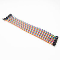 Arduino Shield 40pcs 30cm 2.54mm male to female Dupont cables GOOD QUALITY BEST