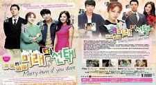 MARRY HIM IF YOU DARE 미래의 선택 未來的選擇 (1-16 End) Korean Drama DVD English Subtitles