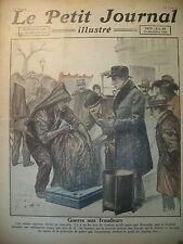 BOUGNAT FRAUDEUR ET AGENT PREFECTURE CANADA EXPLORATEUR LE PETIT JOURNAL 1921