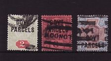 Great Britain Scotts #O32, O34, O35 Govt Parcels used Price Reduced