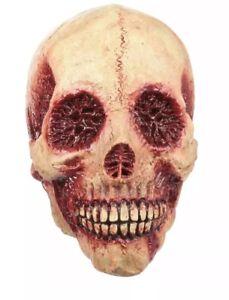 Adult Bloody Skull Costume Mask