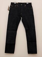 NEW Ralph Lauren RRL DOUBLE RL Rigid Slim Straight Selvedge Denim Jeans 33 x 32