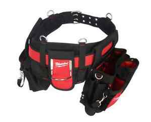 NEW High-Quality Milwaukee Electricians Tool Work Construction Belt Pocket Pouch