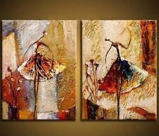 Abstract Canvas Oil Paintings Home Decor Wall Art Hand Paint Ballet Girls Gift