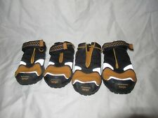 Kurgo Blaze Cross Dog Shoes Winter Boots for Dogs Small Yellow/Black
