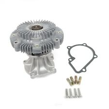 Engine Water Pump with Fan Clutch-XE US Motor Works MCK1093