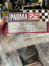 Parma 1953 Ford Pick Up Truck Painted Silver Body Rc R/c 1/10th Scale Custom
