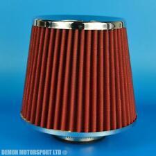 """Filtro Aria Universale rosso ideale per 2.5""""/63 mm Kit Di Induzione Di Aspirazione Turbo (39040"""
