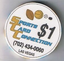 Sports Card Connection $1.00 Casino Chip Las Vegas Nevada