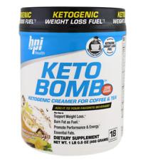 NEW BPI SPORTS KETO BOMB KETOGENIC CREAMER FOR COFFEE & TEA METABOLIC DAILY CARE