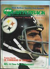 Franco Harris Steelers Mar 1973 Pro Quarterback Magazine Butkus/Shula
