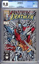 Deathlok #1 (Vol 2)   CGC 9.0 (VF/NM) 1991  First Issue - Metallic Ink Cover