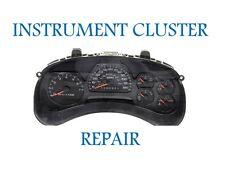 2003 2004 2005 2006 Chevy Trailblazer Speedometer Instrument Cluster Repair