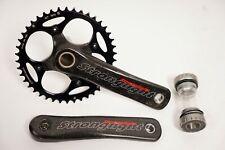 Stronglight Vision Bicycle Crankset Carbon 175 mm 42t & Bottom Bracket
