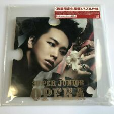 SUPER JUNIOR Opera SUNGMIN ver. CD Limited quantity puzzle specification JAPAN