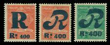 BRAZIL 1930 AIRMAIL - CONDOR - REGISTRATION STAMPS  set Sc# 1CLF1-1CFL3  mint MH