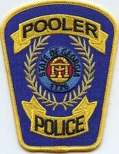 POOLER GEORGIA GA POLICE PATCH