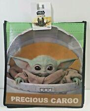 STAR WARS Disney THE MANDALORIAN Baby Yoda CHILD Pod Reusable Shopping Gift Bag