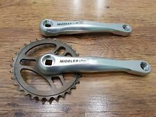 """Middleburn RS7/8 Uno 175mm Crankset. 32T 1/8"""". Square Taper. Single Speed"""