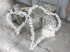 Chic Antique Corazón campanas blanco Shabby Vintage Nostalgie CASA DE CAMPO 25cm