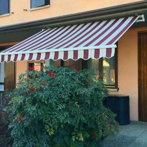 Tenda da Sole per Balconi da  Esterno alluminio Giardino Diverse Misure e Colori