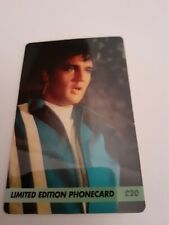 elvis presley phone card limited edition