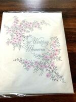 Vintage Retro Gibson Wedding Memory Keepsake Book