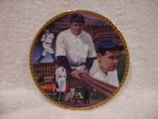 Babe Ruth '92 Sports Impressions Sultan of Swat 4 Inch Plate, New York Yankees!