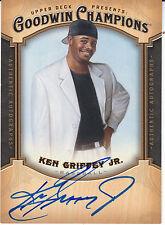 2014 Upper Deck Goodwin Champions  KEN GRIFFEY JR. Auto Autograph AutogrammKarte