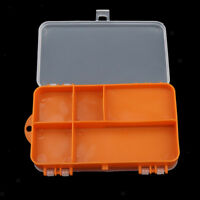 Double Side Fishing Lure Hooks Tackle Box Storage Case 9 Compartments Holder