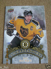 2010 11 Upper Deck Series 2 Ambassadors of the Game #AG  57 Ray Bourque       XX