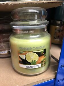Yankee Candle Retired Scent Medium Jar Lime And Corriander