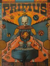 Primus Vip Poster Autographed By The Band ! Signed/Serial Numbered By Artist !