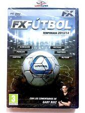 FX Futbol 13/14 PC Nuevo Brand New Precintado Sealed Videogame Videojuego SPA