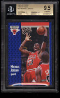 BGS 9.5 MICHAEL JORDAN 1991-92 Fleer Tony's Pizza #S-33 Bulls HOF RARE GEM MINT