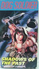 DOG SOLDIER Shadows of the Past VHS NTSC 1992 U.S. Manga Corp. Jpn/Eng. OOP VG+
