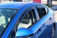 2017-2020 In-Channel Vent Visors Hyundai Elantra