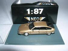 Neo Citroen CX GTI Beige Metalic 1:87 NEW + OB Lim H0