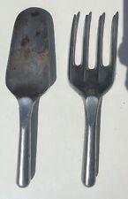 Conran Garden Polished Aluminium Tools trowel fork heals