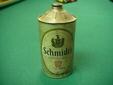 Schmidt's Beer Cone Top Beer Can (quart 32 ounce)