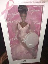 Pink Ribbon Black Barbie Collector Doll Pink Label #K7813 New NRFB 2006 Mattel