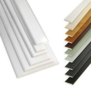 2.5m UPVC Plastic Trim Architrave D mould Cloaking Fillet Plastic Window Bead