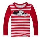 bambini Unisex Mickey Minnie maglione t-shirt maglia felpe con cappuccio 2