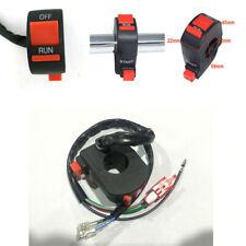 "2Pcs Motorcycle 22mm 7/8"" Handlebar Horn Hi/Lo Beam Headlight Switch Controller"