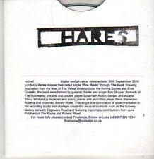 (BR76) Hares, Pink Radio- DJ CD